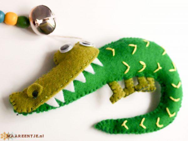 Vilten mobiel krokodil