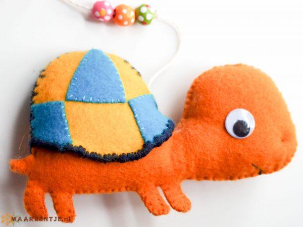 Vilten mobiel schildpad