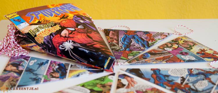 Stripboekslinger Spiderman, MAAREENTJE (3)